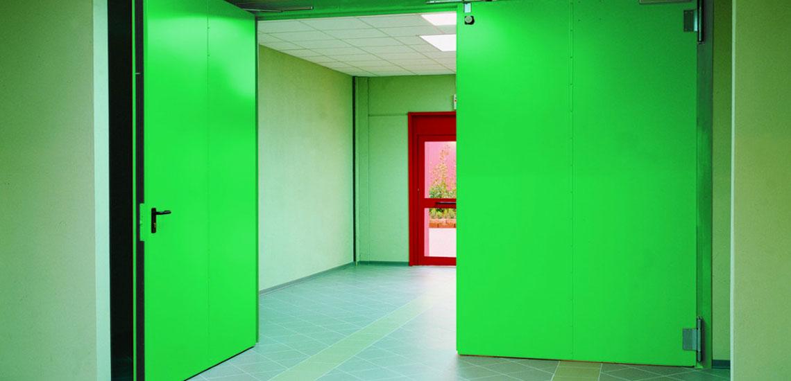 Porta tagliafuoco grandi dimensioni ripac portoni - Dimensioni porta ...