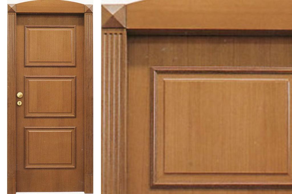 Porta tagliafuoco in legno