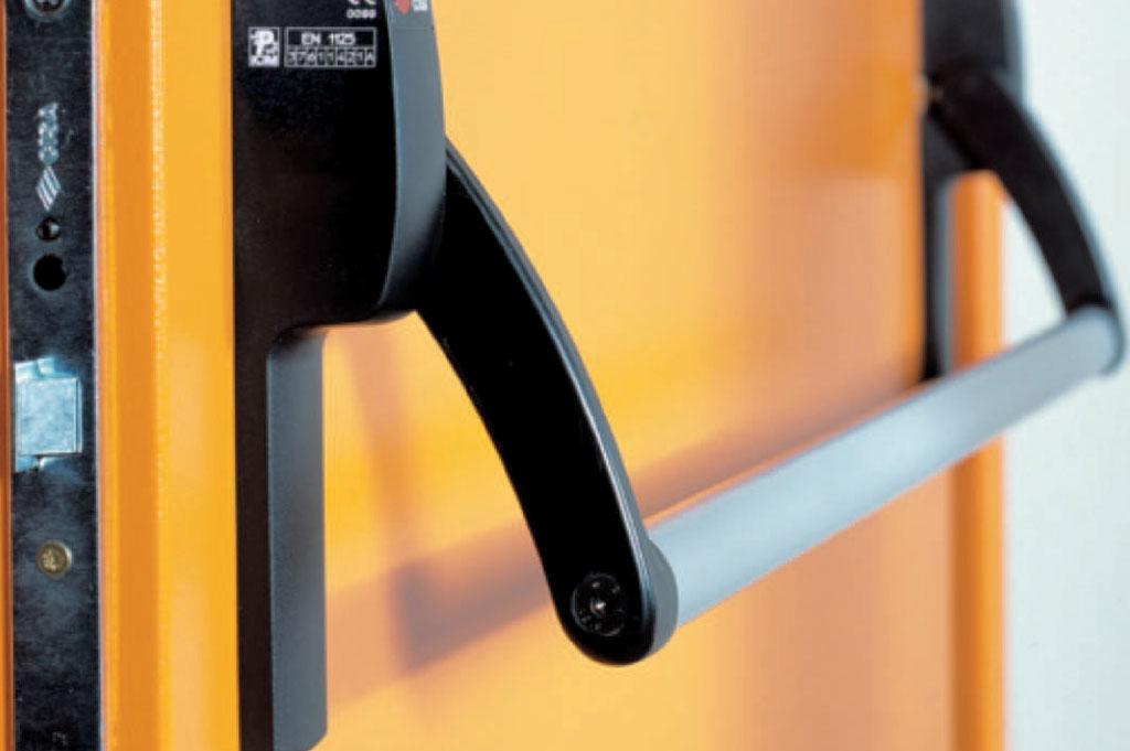 Porta tagliafuoco metallica 1 battente